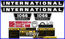 1066 International Harvester Tractor Complete Decal Kit High Quality