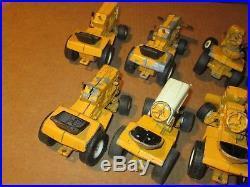 10 Vintage Ertl Diecast Cub Cadet International Harvester Toy Tractors Parts Lot