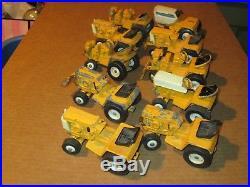 10 Vintage Ertl Diecast Cub Cadet International Harvester Toy