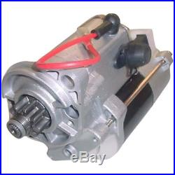 126895A1 New 12V CW 9 Tooth Starter for Case IH International Harvester Tractor