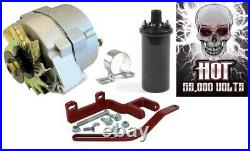 12V Alternator Conversion Kit with Hot Coil for Farmall A B, BN, C, Super A, Super C