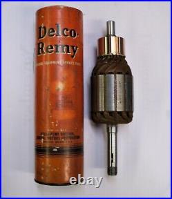 1873054 Delco NOS generator armature, 1939-51 International Harvester Tractor