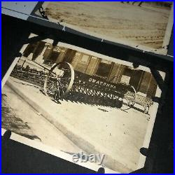 1910s INTERNATIONAL HARVESTER Tractor FARM CONVENTION Hutchinson KS Kansas PHOTO