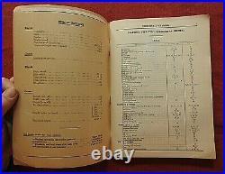 1926-1935 McCORMICK-DEERING MODEL 20 INDUSTRIAL TRACTOR OPERATORS MANUAL NICE