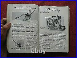 1935 IH McCORMICK-DEERING MODEL 20 I-12 I-30 T-20 TA-40 TRACTOR DEALER'S MANUAL