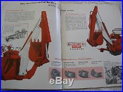 1950's-60's IH INTERNATIONAL INDUSTRIAL TRACTORS & EQUIPMENT 24 PAGE BROCHURE
