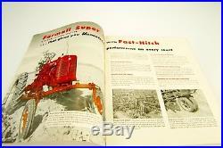 1953 IH FARMALL SUPER C INTERNATIONAL HARVESTER TRACTOR SALES BROCHURE McCormick