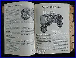 1958-1962 International Farmall 140 404 504 460 560 606 660 Tractor Sales Manual