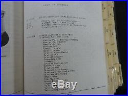 1960-1972 International Harvester Cub Cadet Tractor Master Parts Catalog Manual