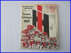1960 International Harvester Farmer's Catalog Sales Brochure Tractor Plow Pickup