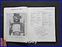 1967 International Harvester 856 Diesel High Crop Awd Tractor Operators Manual