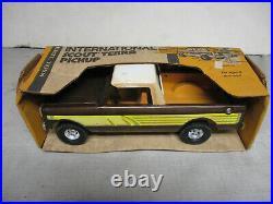 (1970's) Vintage Ertl IH Scout Terra Pickup Truck Toy, 1/16 Scale, NIB