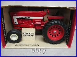 (1974) International Harvester 966 Toy Tractor White Wheels 1/16 Scale, NIB