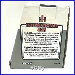 1995 Ertl 1/16 Die Cast International 826 Gold Demonstrator Tractor