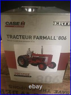 1/16 Farmall 806 Tractor W rop, Prestige Collection by ERTL