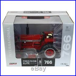 1/16 IH International 766 Black Panel Precision Elite Series Tractor ERTL 44149