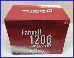 1/16 IH International Farmall 1206 Turbo Tractor Canopy 1902-2002 100 Years ERTL