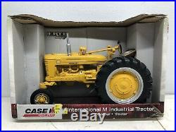 1/16 IH International Farmall Model M Yellow Industrial Highway Tractor by ERTL