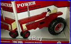 1/16 IH International Harvester 706 806 tractor set, NICE! , Hard to find Ertl