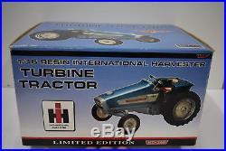 1/16 International Harvester Turbine Tractor Limited Ed. New in Box Spec Cast