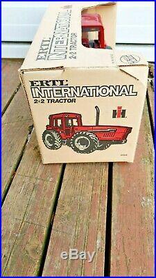 1/16 Vintage ERTL Die-Cast IH International Harvester 6388 2+2 4WD Tractor WithBOX