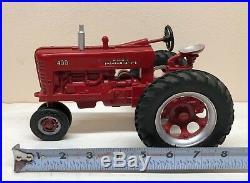 1/16 Vintage Repaint IH International Harvester Farmall 400 Tractor ERTL Nice
