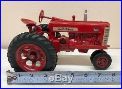 1/16 Vintage Repaint IH International Harvester Farmall 450 Tractor ERTL Nice