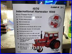 1/16th Scale International Harvester 1066 Tractor Toy Times Black Stripe Cab
