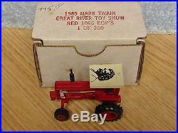 1/64 1989 Mark Twain Show Ih International Harvester 1066 Tractor Le Nib