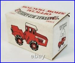1/64 International 4366 4wd Tractor 1990 Gateway Mid-America Toy Show Custom