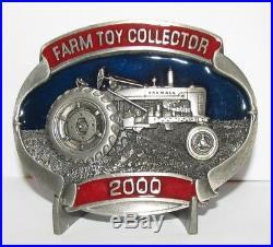 2000 IH International Harvester Farmall M Tractor Belt Buckle Limited Ed 139/500