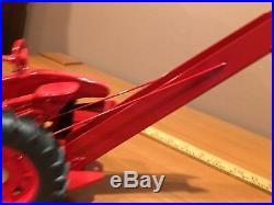 2005 1/16 Mc Cormick Farmall H CUSTOM CORN PICKER Made for Bluffton tractor pull