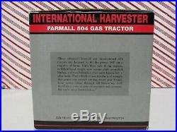 2005 SpecCast 1/16 IH International Harvester Farmall 504 Gas Tractor # ZDJ 190