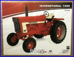 (2020) Scale Models International Harvester 1466 Toy Tractor, 1/8 Scale, NIB