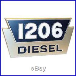 2752935R1 New Case International Harvester Side Emblem 1206