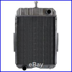 391931R91 Radiator for Case International Harvester 806 826 856 1026 1206 1256