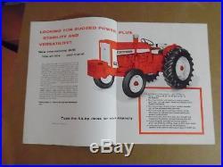 3 IH Farmall McCormick Tractor Brochures 450 504 606 International Harvester