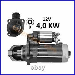 4,0 KW Starker Anlasser für Case IH IHC 644 A 844 S SA 844 TD8B 1046 1056 XL