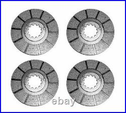 4 Brake Disc for International Harvester Farmall H, Super H, Super W-4, 300, 350