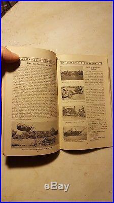 Antique 1913 IHC International Harvester Almanac Hit Miss Engine Tractor