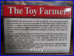Claire Scheibe Memorial Farmall 400, The Toy Farmer, NIB