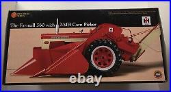 ERTL 1/16 THE FARMALL 560 WITH 2-MH CORN PICKER Precision Series #14 NIB UNCUT