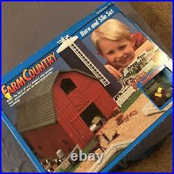 ERTL 1/64 Scale Farm Country Barn & Silo Set Old vintage COMPLETE Rare