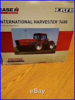 ERTL IH International Harvester 7488 with Rear Duals Case IH Prestige NIB 1 16