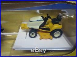 Ertl 1/16 Cub Cadet Lawn & Garden Tractor With Pickup and Trailer NIB
