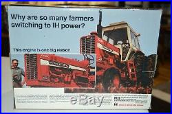 Ertl 1/16 FARMALL IH INTERNATIONAL HARVESTER 1456 PRECISION KEY #8 TRACTOR NIB