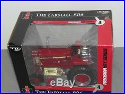Ertl 1/16 FARMALL IH INTERNATIONAL HARVESTER 806 PRECISION KEY #4 TRACTOR NIB