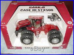 Ertl 1/16 Ih Case International Stx500 Ce W Duals Tractor W 1/64 Chrome Tractor