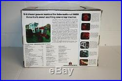 Ertl 1/16 Ih International Harvester 1468 Precision #3 Key Series Tractor