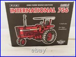 Ertl 1/16 Ih International Harvester Farmall 756 Se Tractor